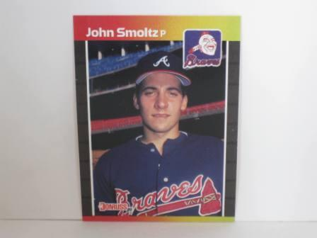 John Smoltz RC #642 1989 Donruss Baseball Card